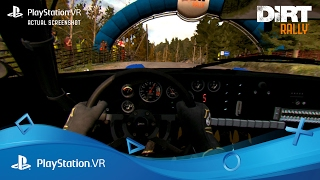 DiRT Rally PlayStation VR Launch Trailer