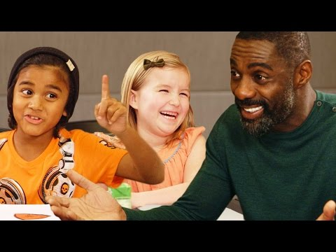Idris Elba Gets Valentines Day Advice from Kids