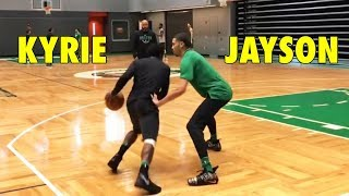 Kyrie Irving 1-on-1 against Jayson Tatum | WHO WON?