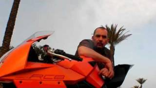 9. 2008 KTM RC8 - it was worth it