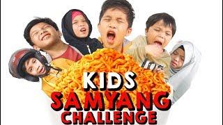 Video KIDS SAMYANG CHALLENGE | Gen Halilintar MP3, 3GP, MP4, WEBM, AVI, FLV Desember 2017
