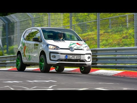 VW UP! ON THE NÜRBURGRING