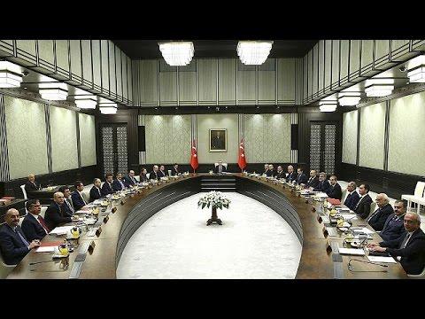 Bakanlar Kurulu ilk kez Cumhurbaşkanlığı Sarayı'nda toplandı