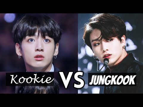 BTS Kookie VS JUNGKOOK - Two Sides of Jeon Jungkook
