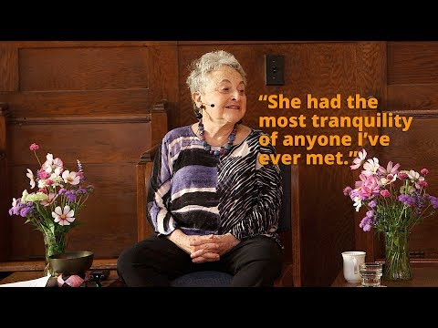 What Sylvia Boorstein learned from Dipa Ma,