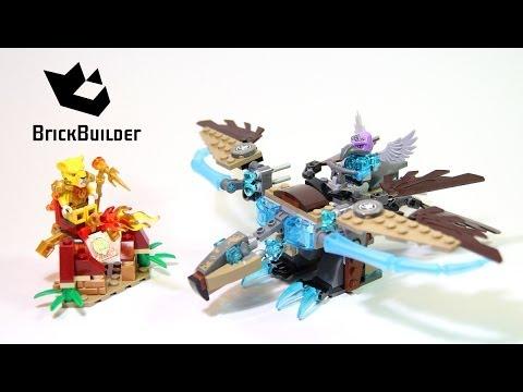 Vidéo LEGO Chima 70141 : Le planeur Vautour des glaces