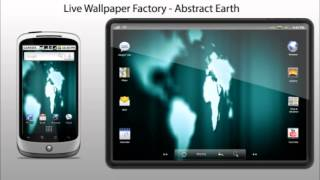 Abstract Earth Live Wallpaper YouTube video