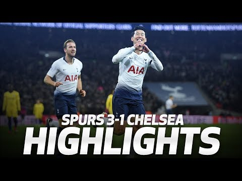 SONNY'S WONDER GOAL! HIGHLIGHTS | SPURS 3-1 CHELSEA