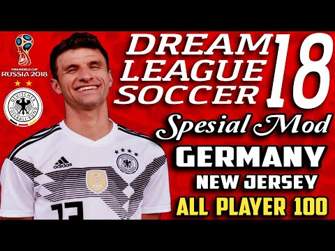 Download Dream League Soccer 2018 Mod Germany (Jerman) Fifa World Cup Russia 2018 | Unlimited Money