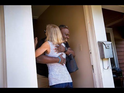 Woman befriends the man who shot her when he was thirteen