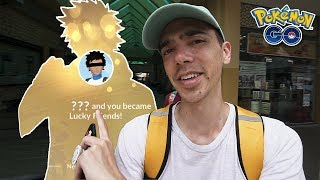 YOU'LL NEVER GUESS MY FIRST LUCKY FRIEND IN POKÉMON GO by Trainer Tips