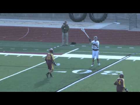 Alma College Men's Lacrosse vs. Calvin College - April 10, 2012