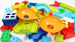 Video Building Blocks Toys for Children Marble Run with Plates for Kids MP3, 3GP, MP4, WEBM, AVI, FLV Maret 2019