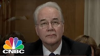 Sen. Bernie Sanders Questions Rep. Tom Price On Accessible Health Care | CNBC