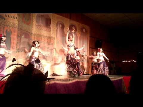 Rachel Brice/Datura tribal fest 14 (видео)