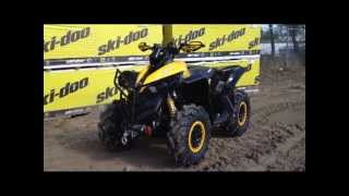 4. 2013 Canam Renegade 1000 xXC Zilla's , HMF Dual Exhaust, Snorkled, HD Winch Bumper Kit