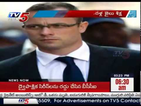 Oscar Pistorius sentenced to 5 years in prison  TV5 News