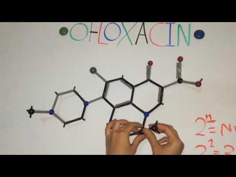 Stereochmistery of ofloxacin