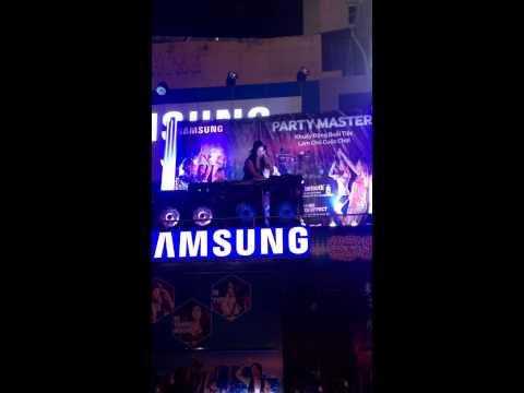 DJ TRANG MOON - Samsung Party Master ngày 26/6/2015