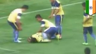 Goal Celebration Death  Indian Soccer Player Dies After Breaking His Neck
