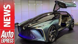 Lexus LF-30 - wild flagship EV concept previews future for Lexus by Auto Express