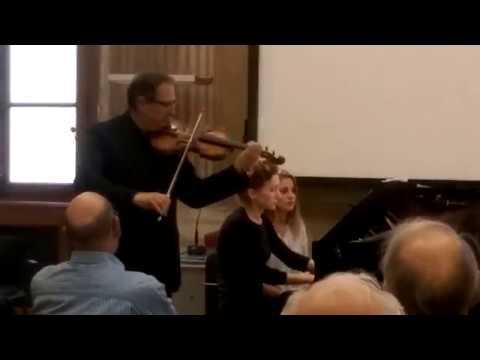 R. Schumann - Sonata per Violino e Pianoforte n. 1 op. 105 - I mov.