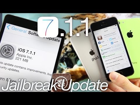 update - WATCH FIRST For More 7.1.1 Updates, Follow Me On Twitter: http://twitter.com/#!/iCrackUriDevice iOS 7.1.1 Untethered Jailbreak patched by Apple's previous fi...