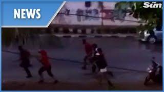 Video Indonesia: new footage of the tsunami crashing into shore MP3, 3GP, MP4, WEBM, AVI, FLV Desember 2018