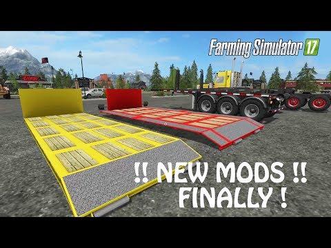 NEW MODS in Farming Simulator 2017 | FINALLY SOME INSANE STUFF | PS4 | Xbox One