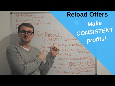 Matched Betting Reload Offers | Profit Accumulator