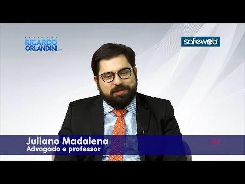 Ricardo Orlandini entrevista o advogado e professor Juliano Madalena, sobre questões relacionadas ao direito e o mundo digital.