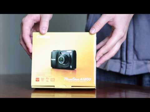 Point and Shoot - Canon Powershot a1200 unboxing.mp4