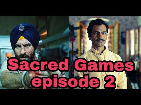 Sacred games season 1 episode 2 Nawazuddin kick Ass dialogue !