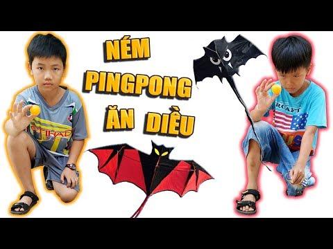 Tony | Chơi Ping Pong Ăn Diều Cá Mập - Throw Ball Get KITE - Thời lượng: 10 phút.