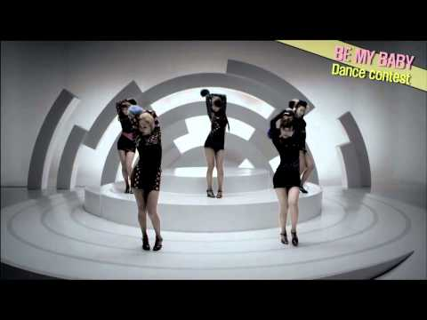 [HD]  WG- Be My Baby Dance Contest  (有 2AM-趙權)