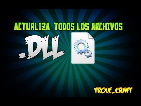 ►Como reparar  todos los errores de archivos .dll (archivos faltantes en tu pc)◄
