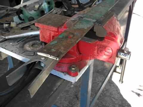 Soldar chapas finas de galvanizado con electrodos.