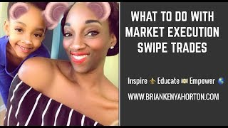 What To Do With Market Execution Swipe Trades
