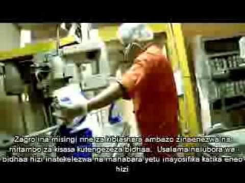 Zagro Corporate Video - Swahili Subtitle