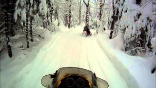 8. 2006 Ski Doo MXZ trail riding