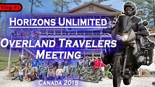 Horizons Unlimited - Overland Travelers Meeting in Canada 2015