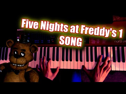 Five Nights at Freddy's 1 Song - The Living Tombstone | Piano Cover