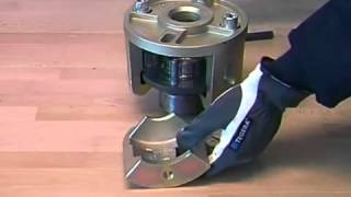 Replacing of compact wheel bearings universal 1090 25   YouTube