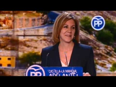 María Dolores de Cospedal es elegida presidenta del PP de Castilla-La Mancha