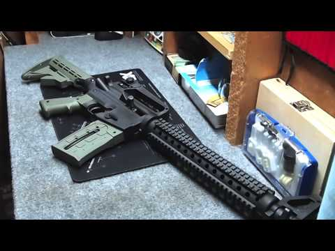 Mossberg 715T .22LR AR15 style rifle - its 90% AR15