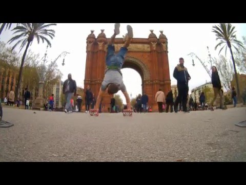 FreeSkates In Barcelona With JMK Ride