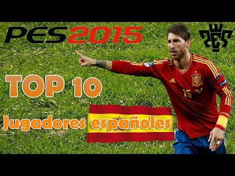 [PES 2015] Top 10 mejores jugadores españoles