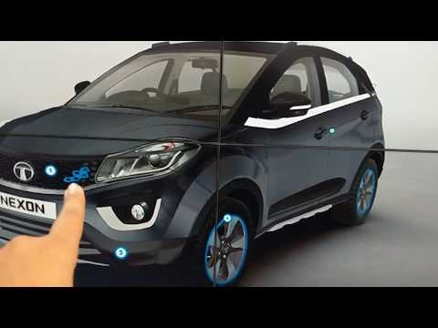 Tata Nexon Aktiv accessories in Hindi | Auto Expo 2018 | MotorOctane