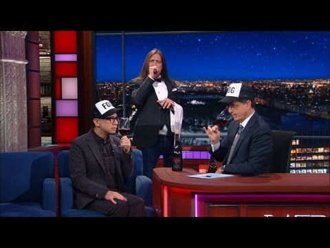 Colbert & Armisen Review Foghat Wine!