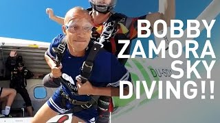 As a punishment for Bobby Zamora losing at Talkin' Two Touch, he had to Sky Dive in Dubai!Amazing music by Frankie Stew & Harvey Gunn! Check them out here: https://soundcloud.com/fsandhg Subscribe: http://bit.ly/15QO9WEWebsite: http://five.supplyFacebook: http://on.fb.me/154PdYATwitter: http://bit.ly/12llIk9Google+: http://bit.ly/1cWMlTh